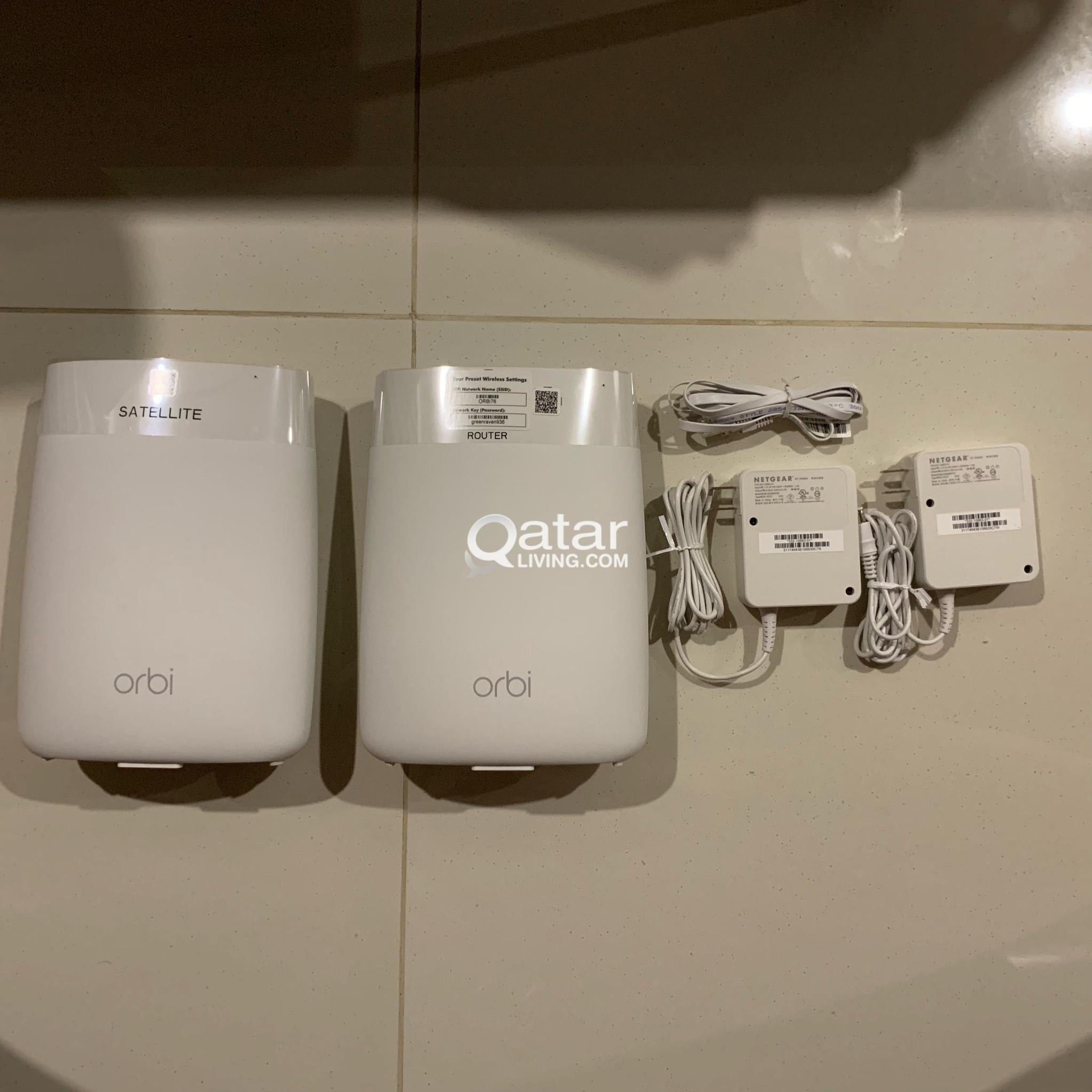 NETGEAR Orbi Wi-Fi Kit RBK50 (ooredoo)   Qatar Living