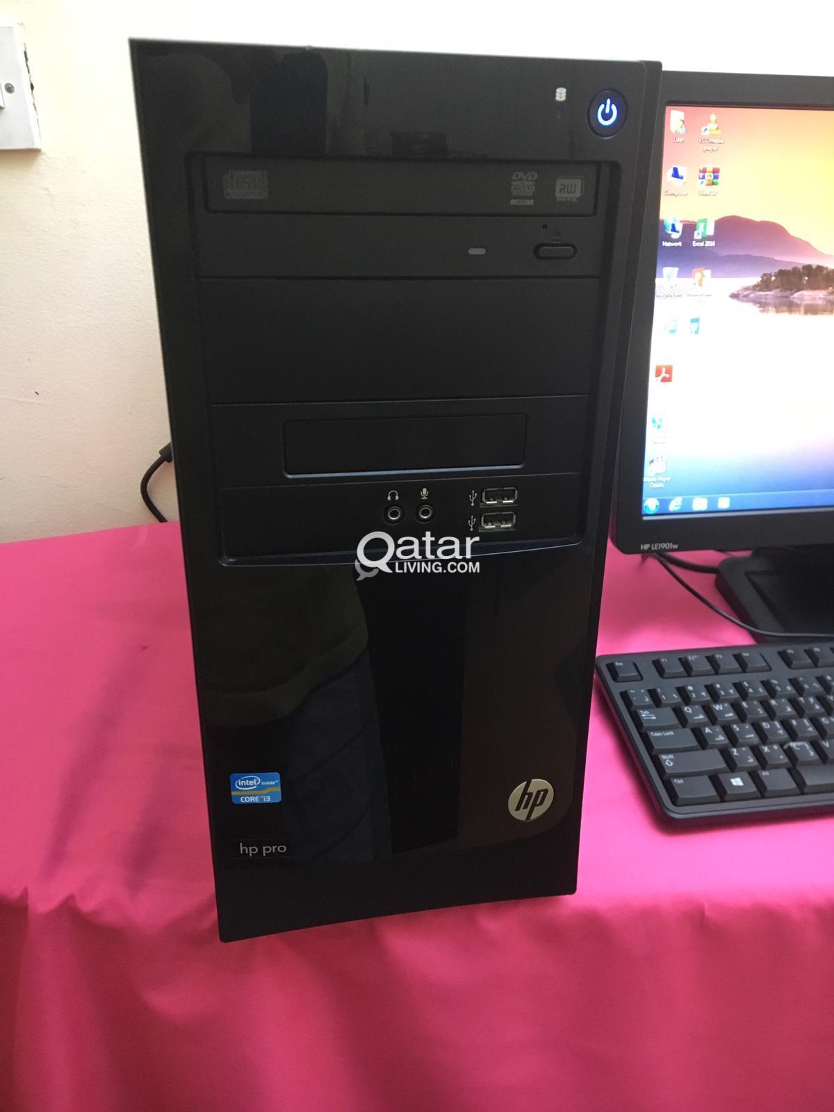 computer set on sale HP Pro 3330 Micro Tower | Qatar Living