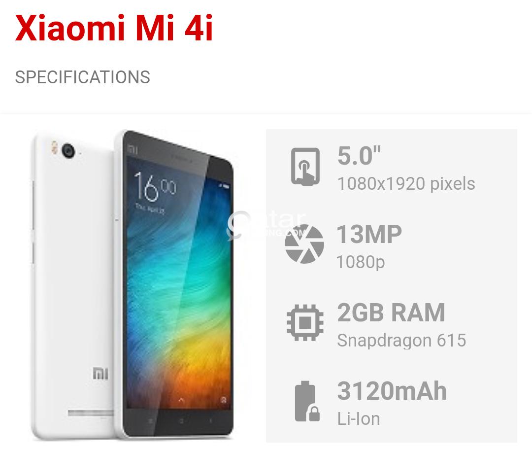 Almost new Xiomi MI 4i | Qatar Living