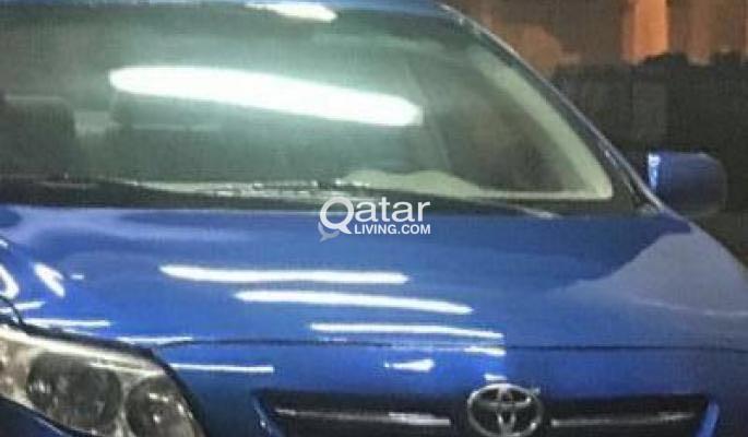 Toyota Corolla for sale...
