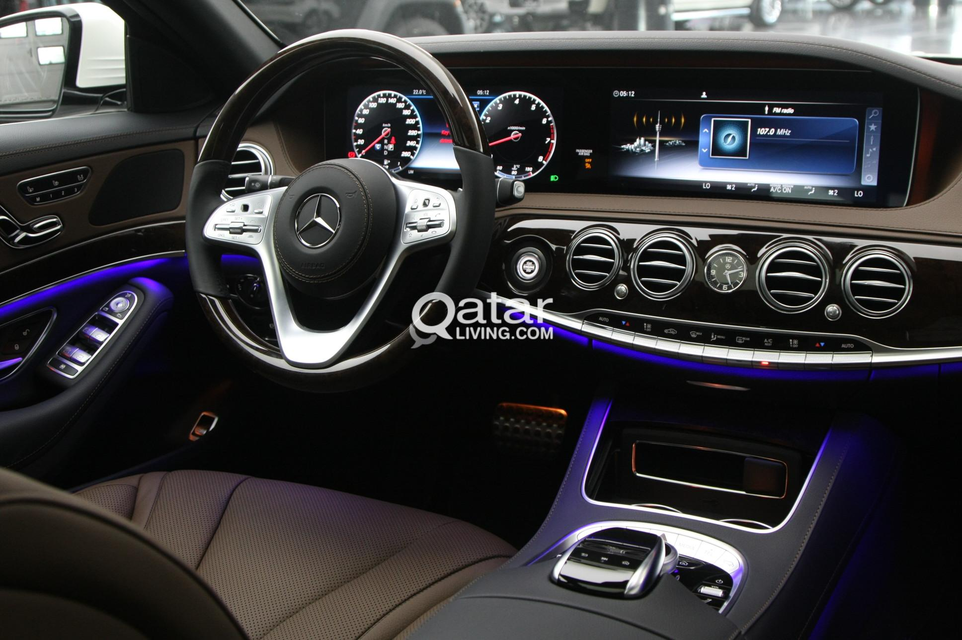 Mercedes-Benz  S-Class 450 White