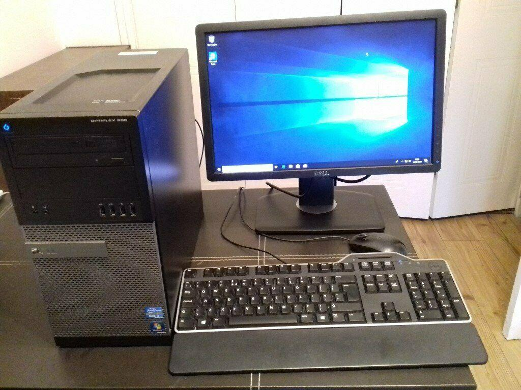DELL OPT 9010-i7-16GB RAM-1TB-HDD-23
