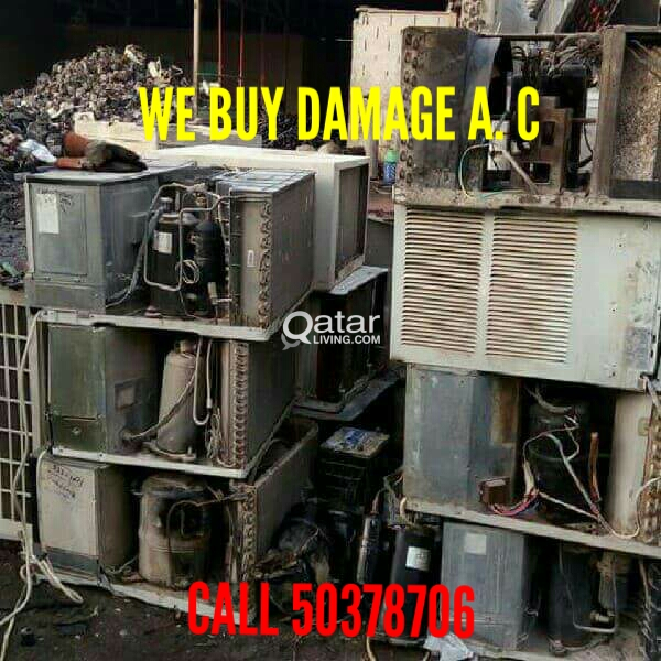 WE BUY DAMAGE A/C, COPPER PIPE CALL 50378706 | Qatar Living
