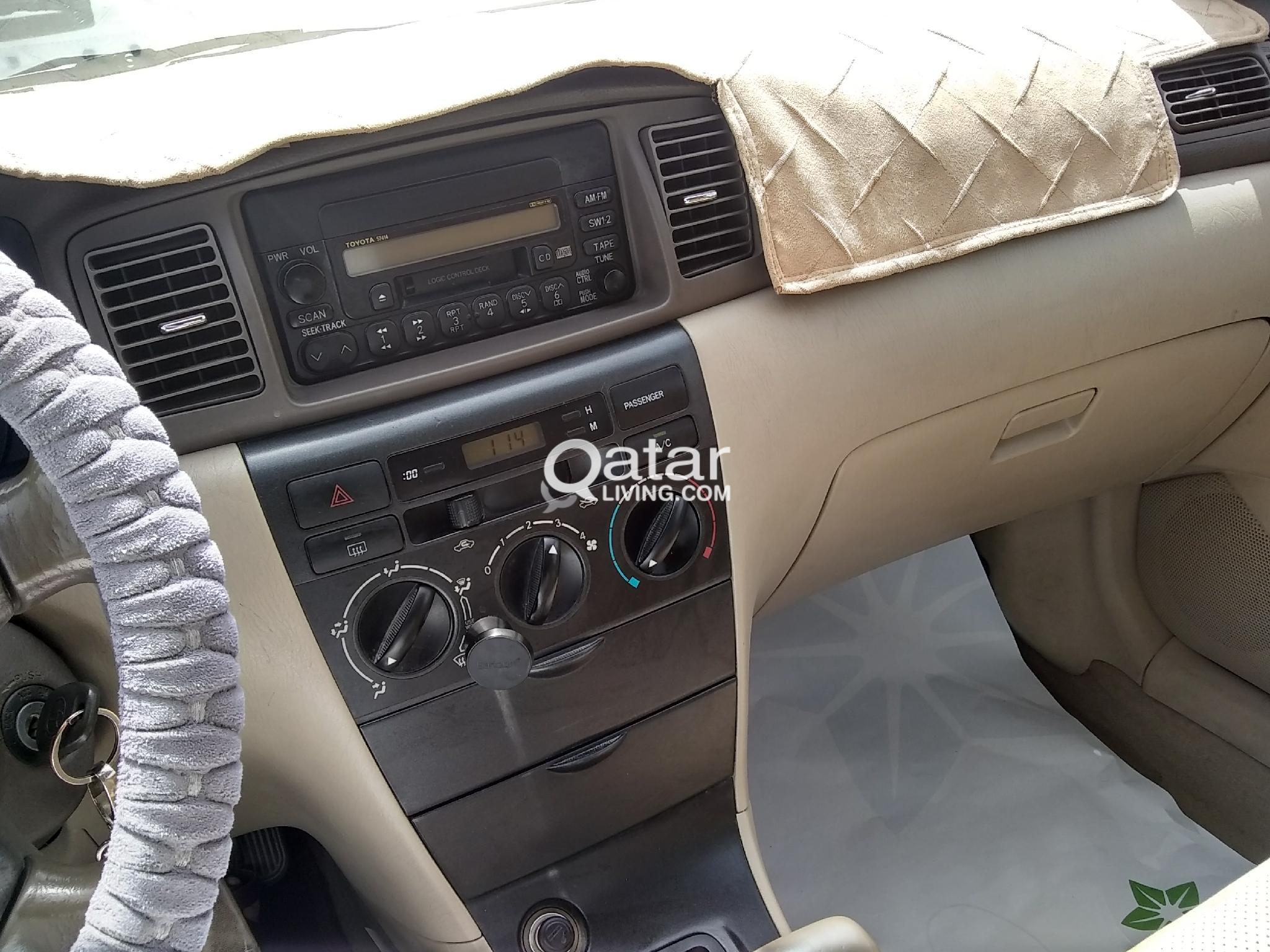 2006 Automatic 1.3,Toyota corolla