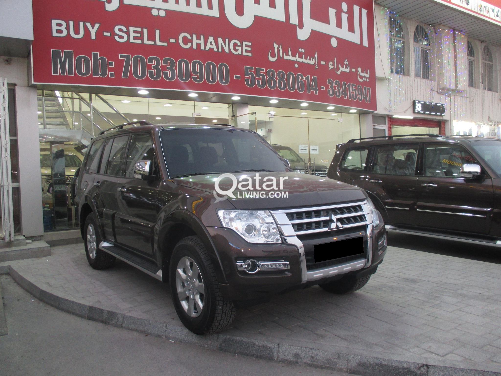 MITSUBISHI PAJERO 3.5L BROWN COLOR