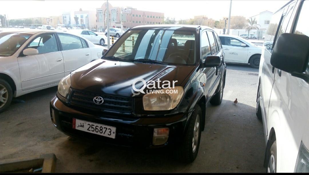 toyota rav4 2003, full options, black color,174 km  very good condition |  qatar living
