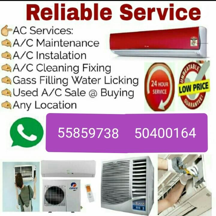 AC/ Selling and Fixing, Servicing, Repairing, Gass