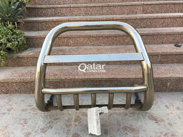 Prado stainless steel front protection guard