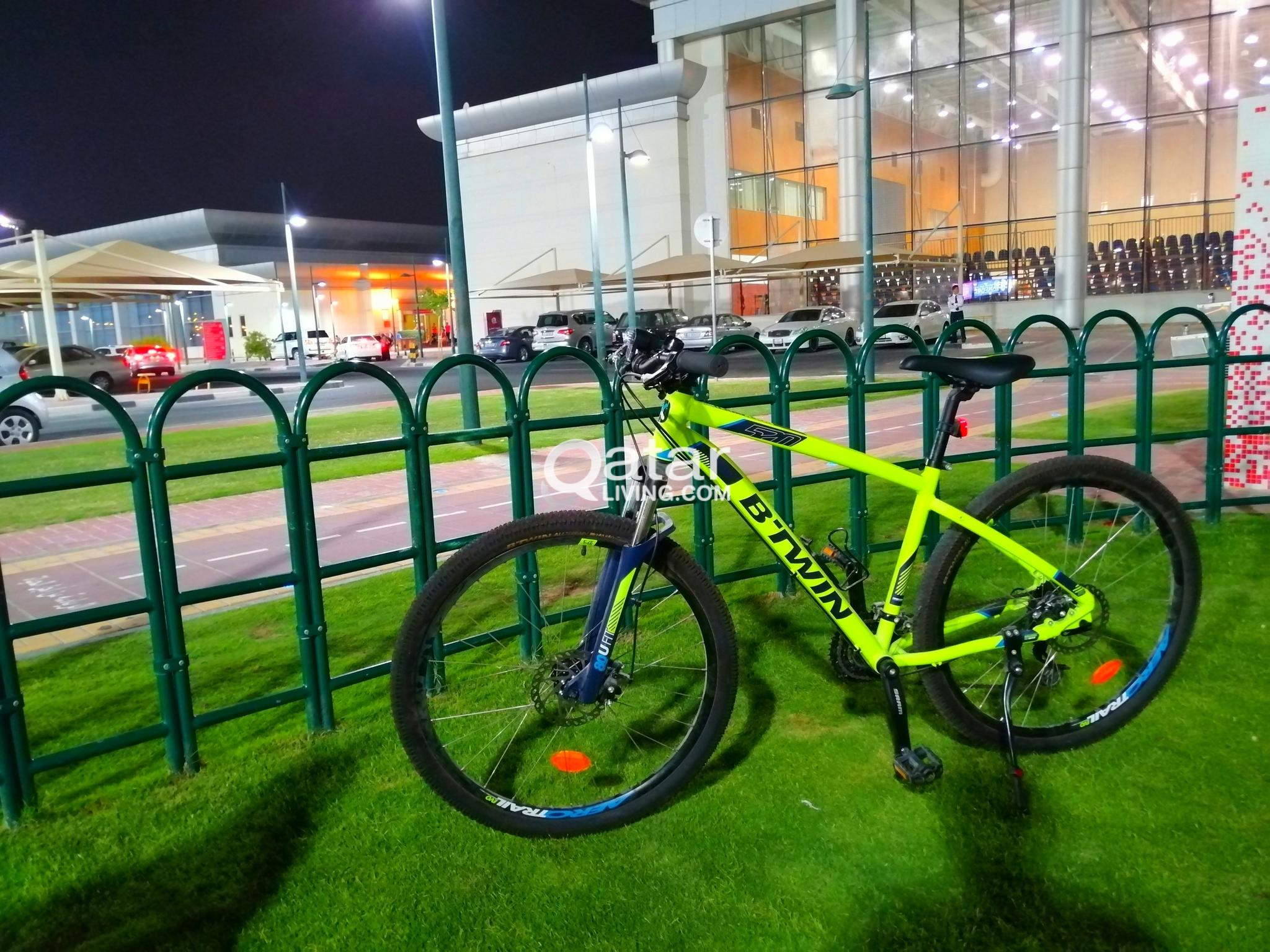 Btwin Rockrider 520 Decathlon 275 Medium Frame Qatar Living
