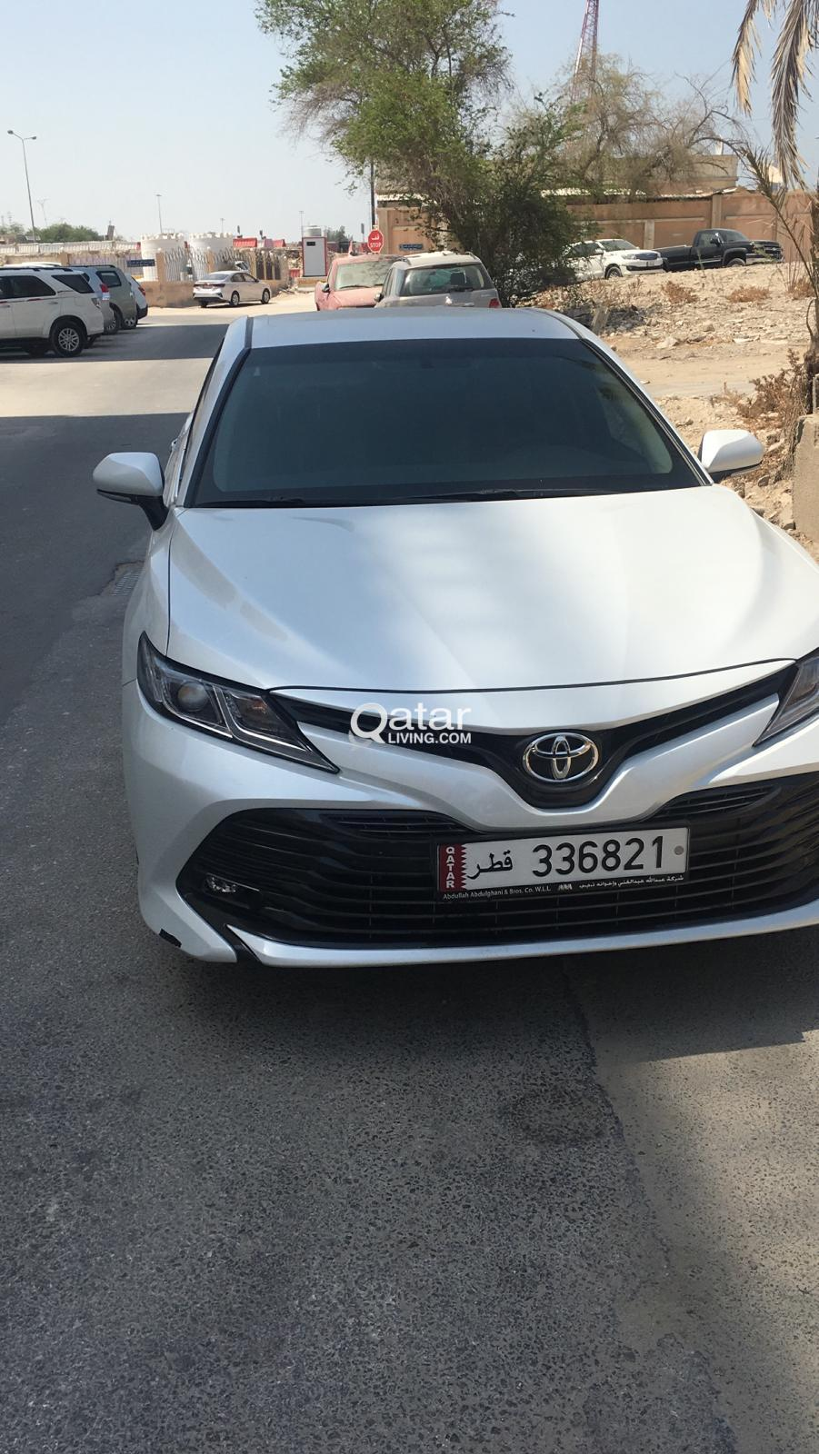 TOYOTA CAMRY SILVER COLOUR 2019 MODEL FOR SALE