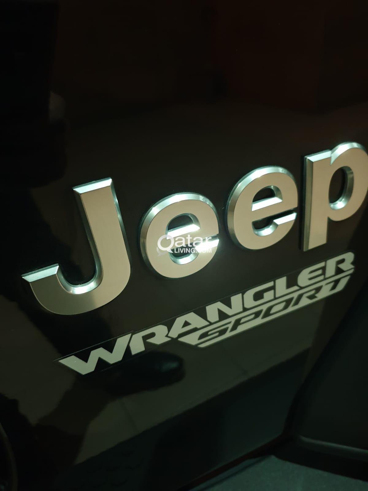 Almost new Jeep Wrangler 2018 Sport