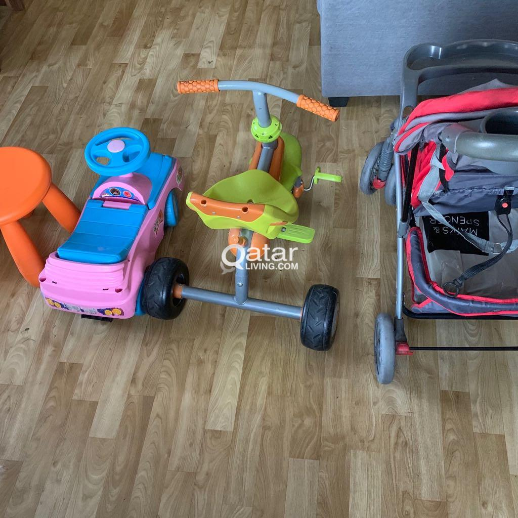 Baby stroller/cycle/car/chair