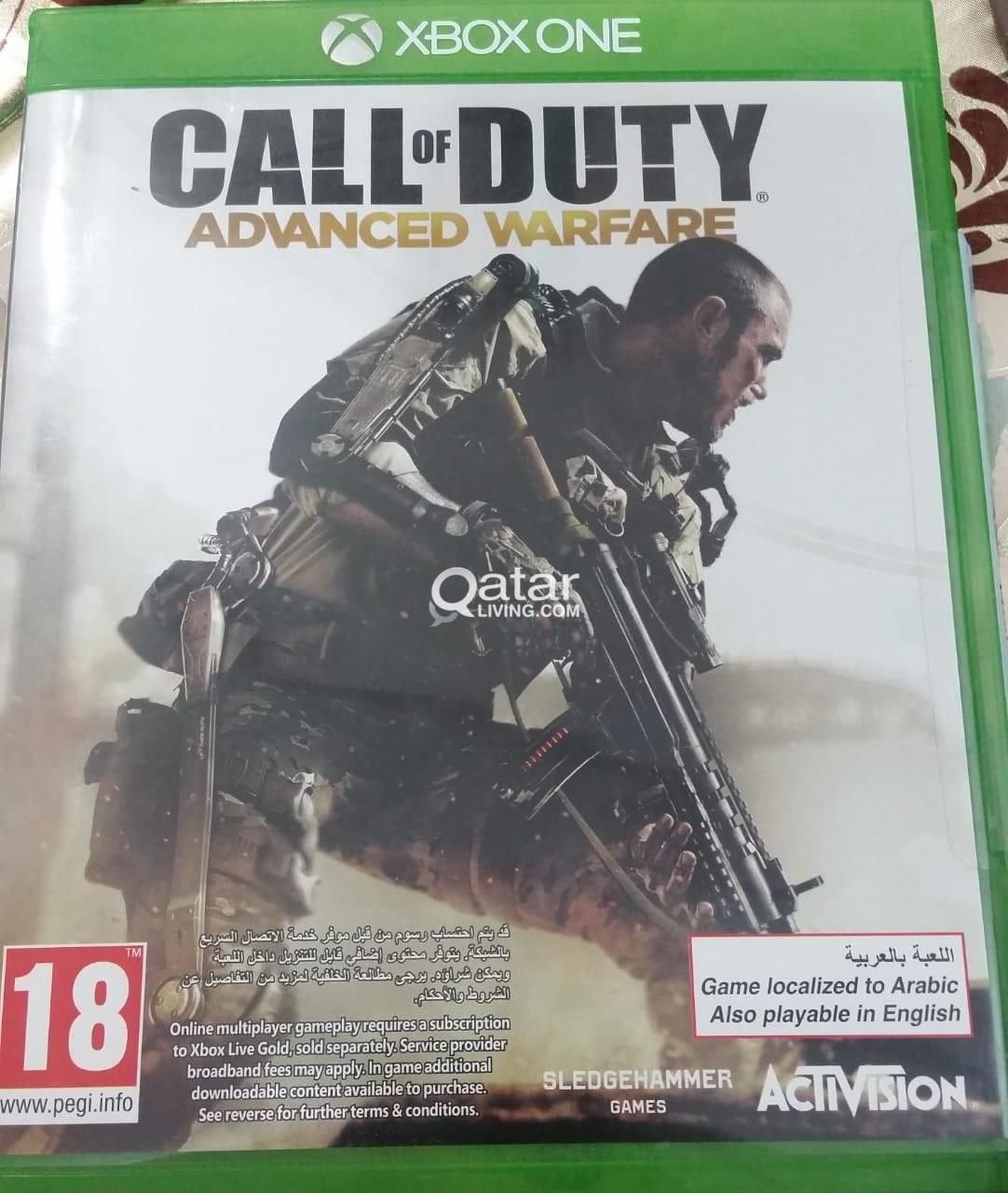 Call of Duty Advanced Warfare - Xbox One - For Exchange