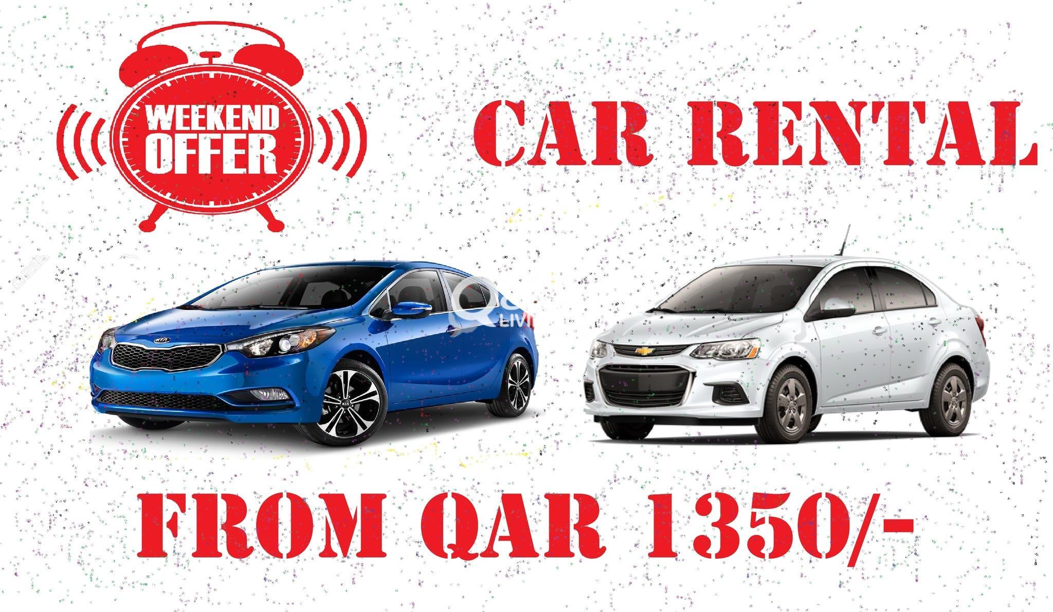 Weekend Offer for Car Rental