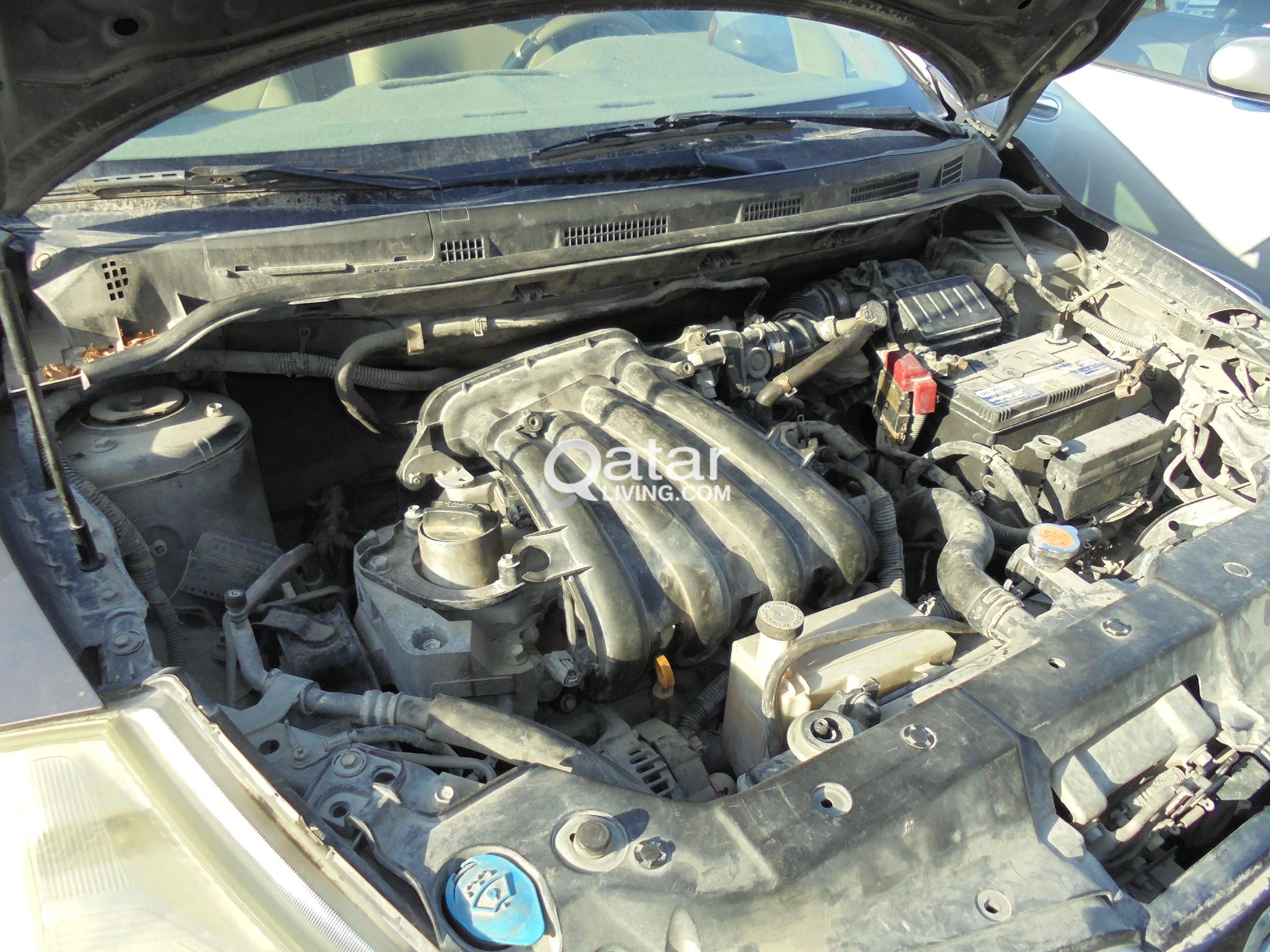 Tiida 2008 Scrap Oll Parts Sell Engine Gear box AC
