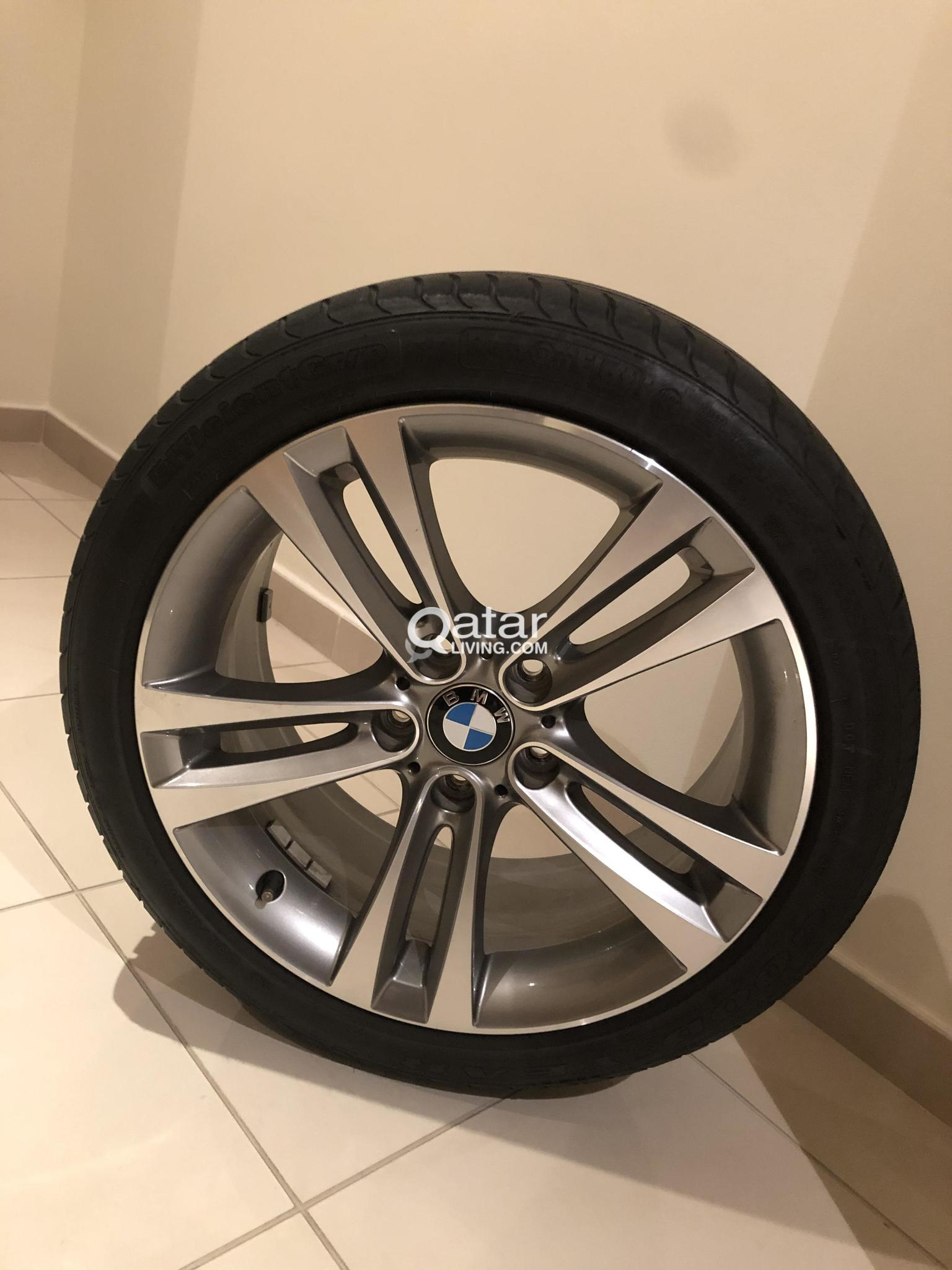 18 Inch Rims And Tires >> 4x18 Inch Bmw Rims Including Tires 225 45r18