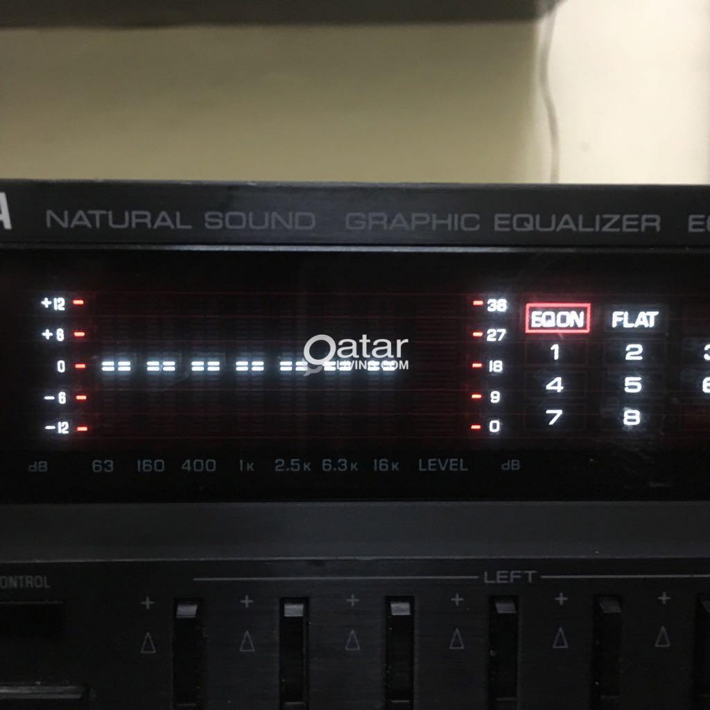Yamaha graphic equalizer | Qatar Living