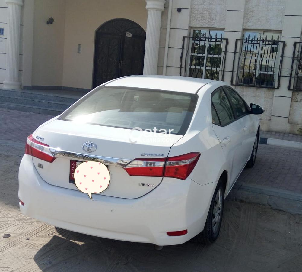 Toyota Corolla XLI-1.6L-2015 model