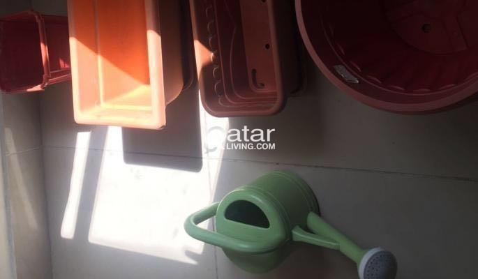 Flower Box (4no's) and Water Shower Mug