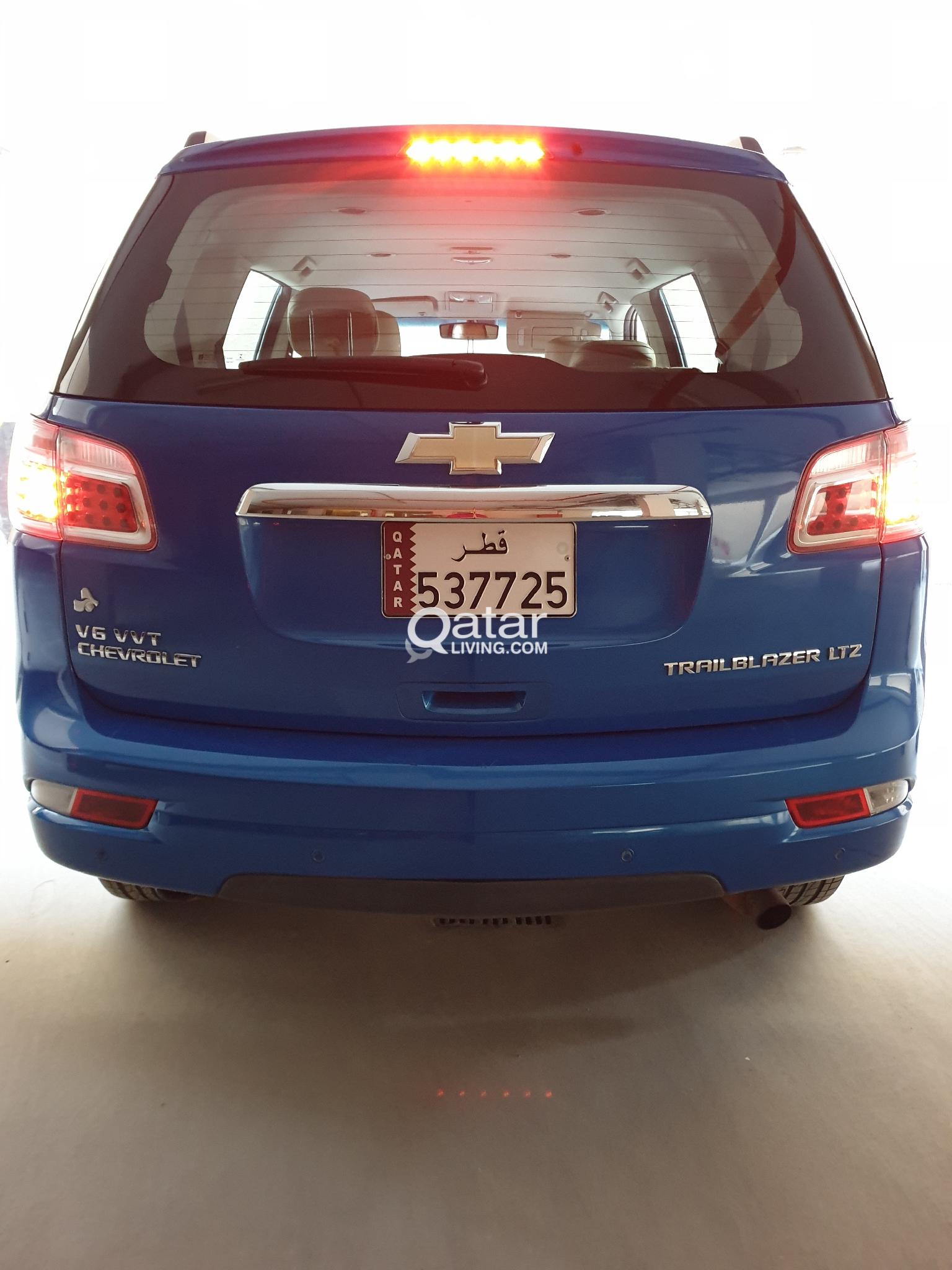 Chevrolet trailblazer LTZ 2013 low kms urgent sale