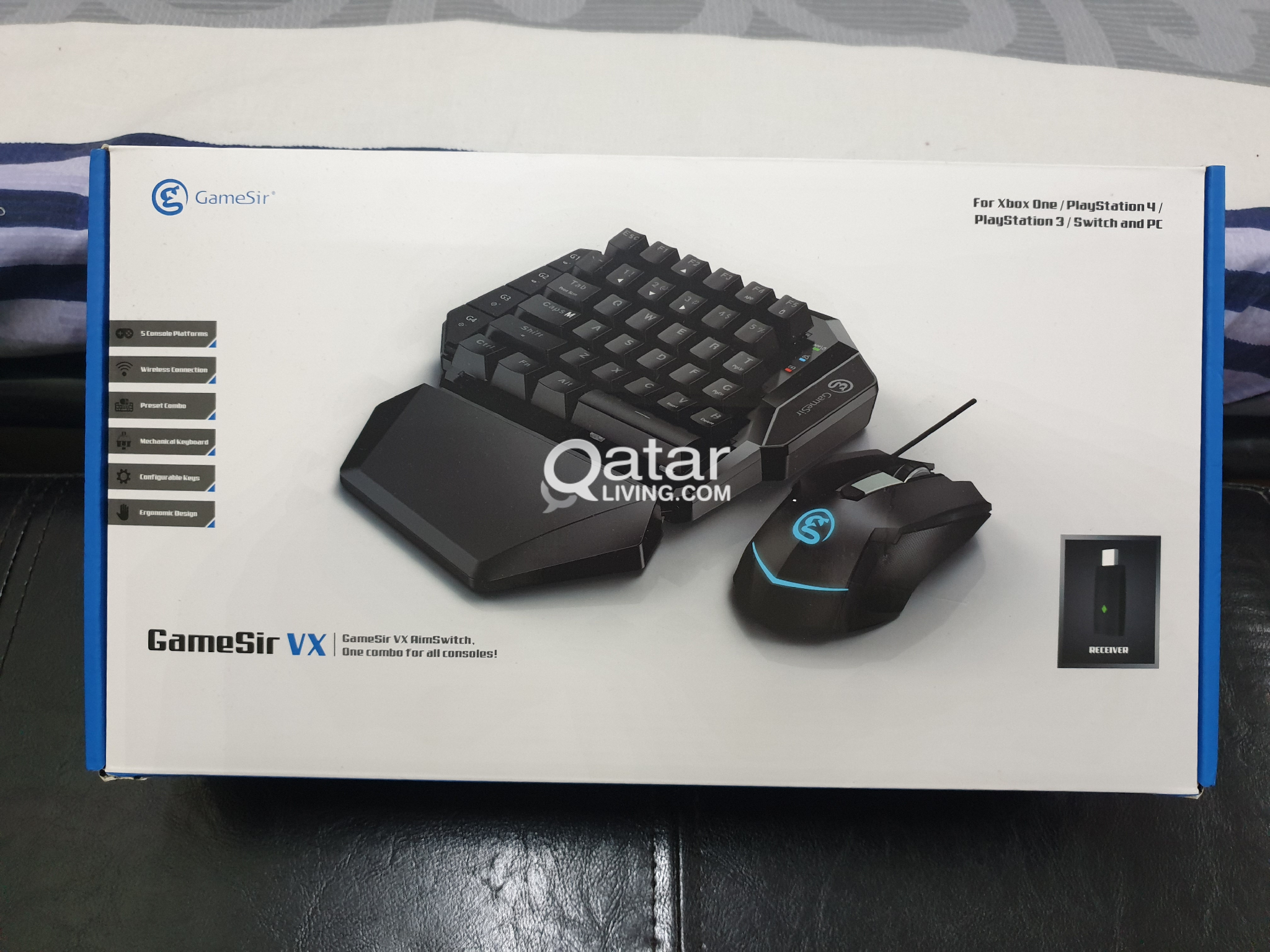 PS4 and Nintendo switch keyboard and mouse | Qatar Living