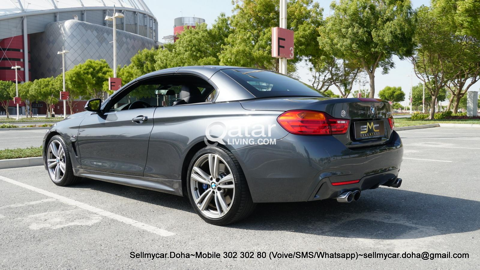 2015 BMW 435i M-SPORT PACKAGE Cabriolet (More Photos Available Upon Request)