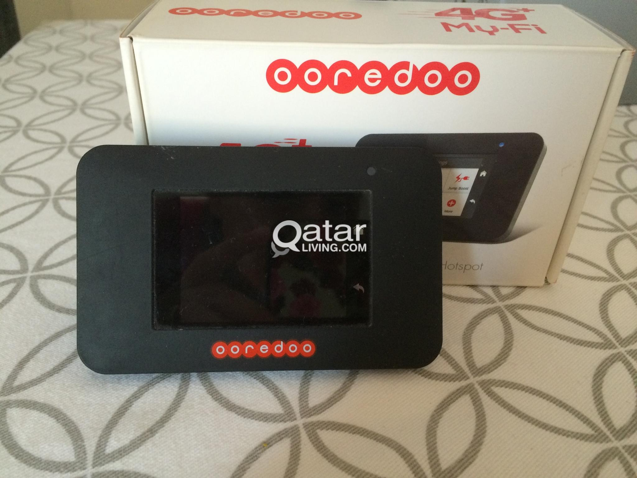 Portable Ooredoo 4G plus My-FI router | Qatar Living
