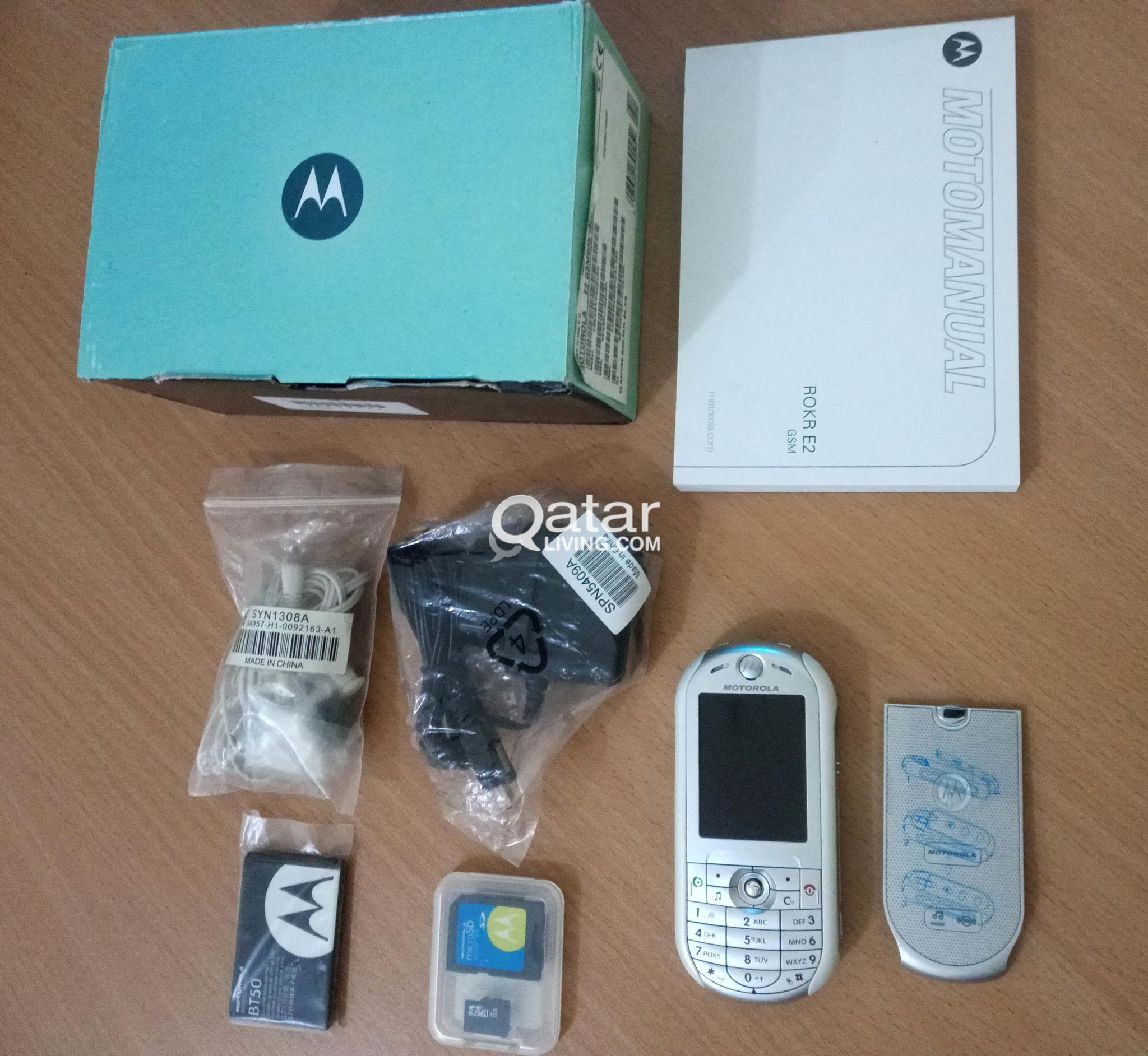 Motorola Rokr E2 New Box Made Germany | Qatar Living