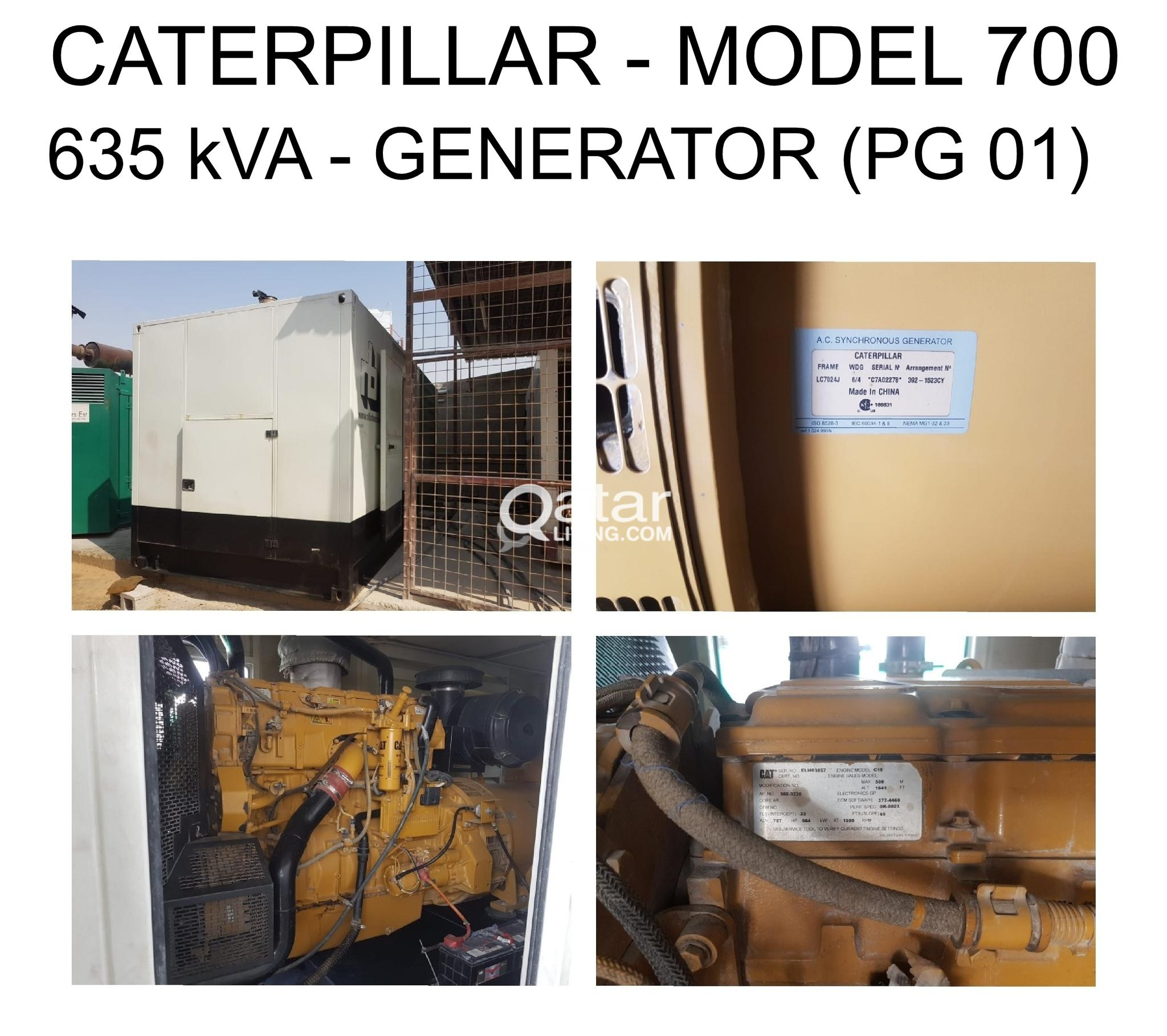 Generators for Sale - Caterpillar & Volvo