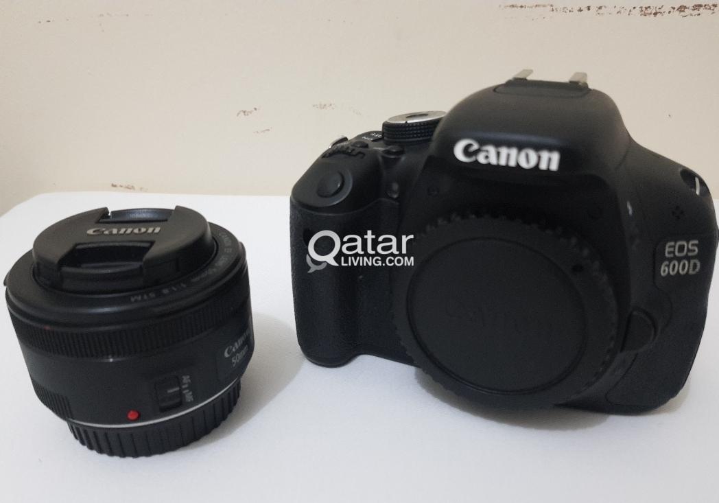 canon EOS 600D+50mm 1 8STM lens | Qatar Living