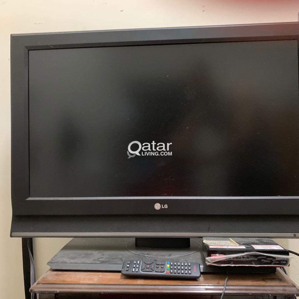 32 LG TV, Airtel Dish and Set top box with Cable   Qatar Living