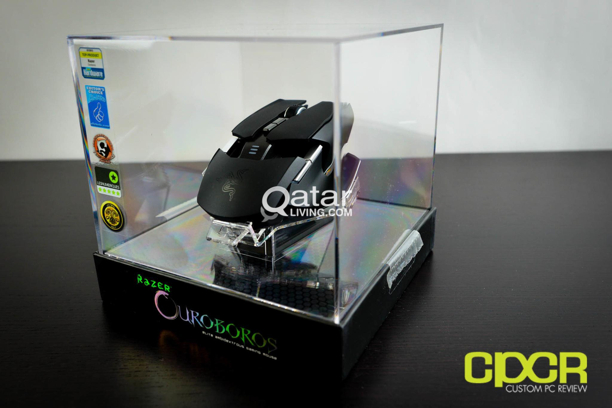 faa4179846e Razer Ouroboros Elite Ambidextrous Wired Gaming Mouse - 8200 DPI 4G Laser  Senso | Qatar Living