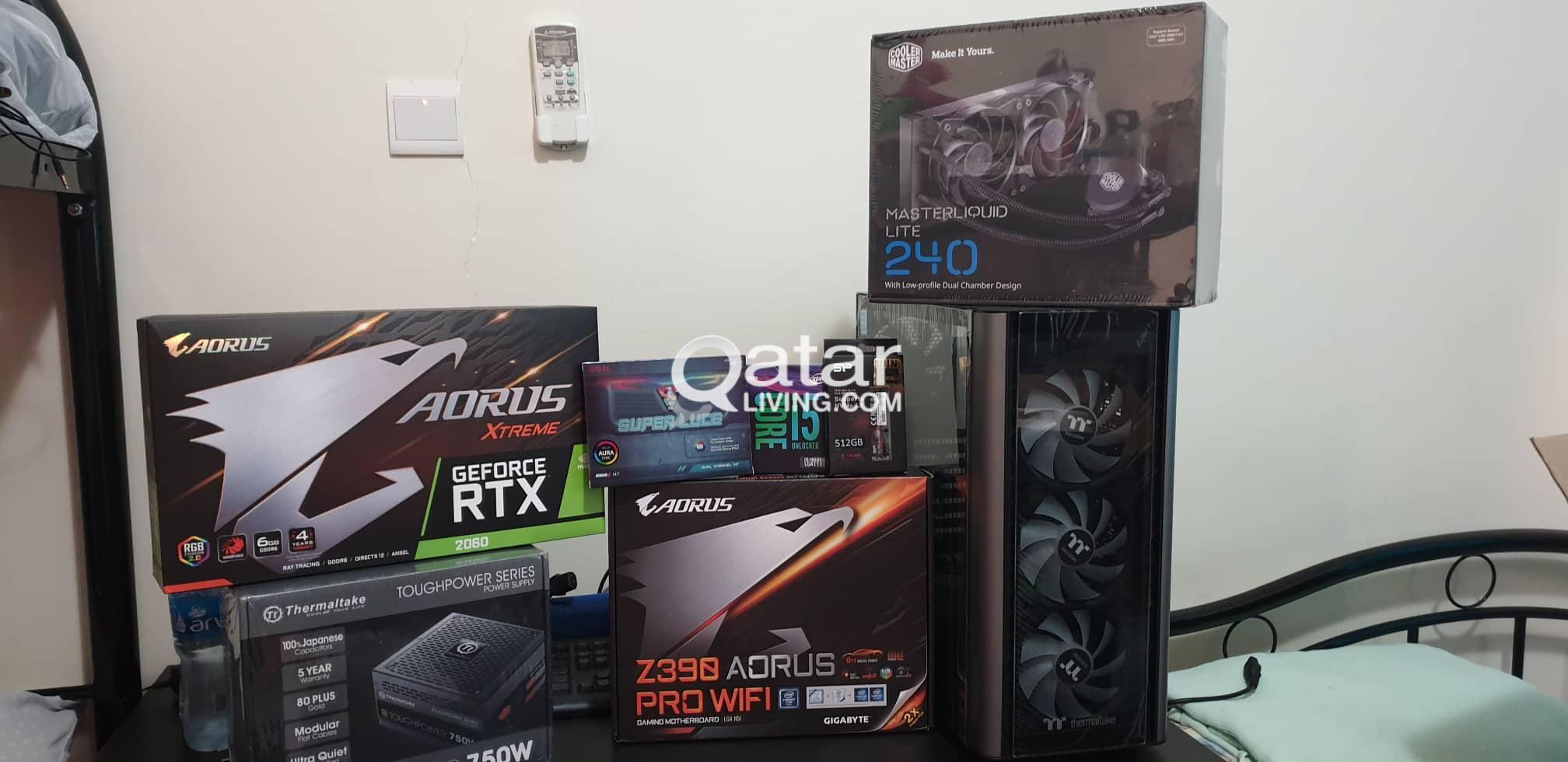 Gaming Computer Parts (Rtx 2060 / i5 9600k) | Qatar Living