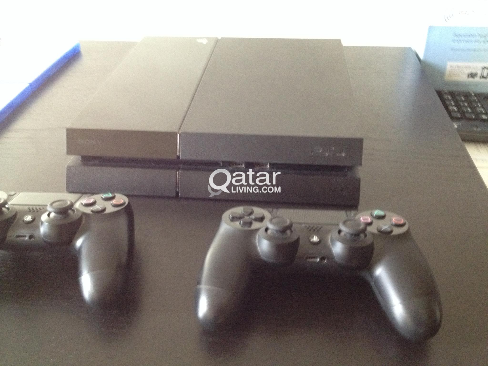 PS4 + 2 controllers + 9 games | Qatar Living