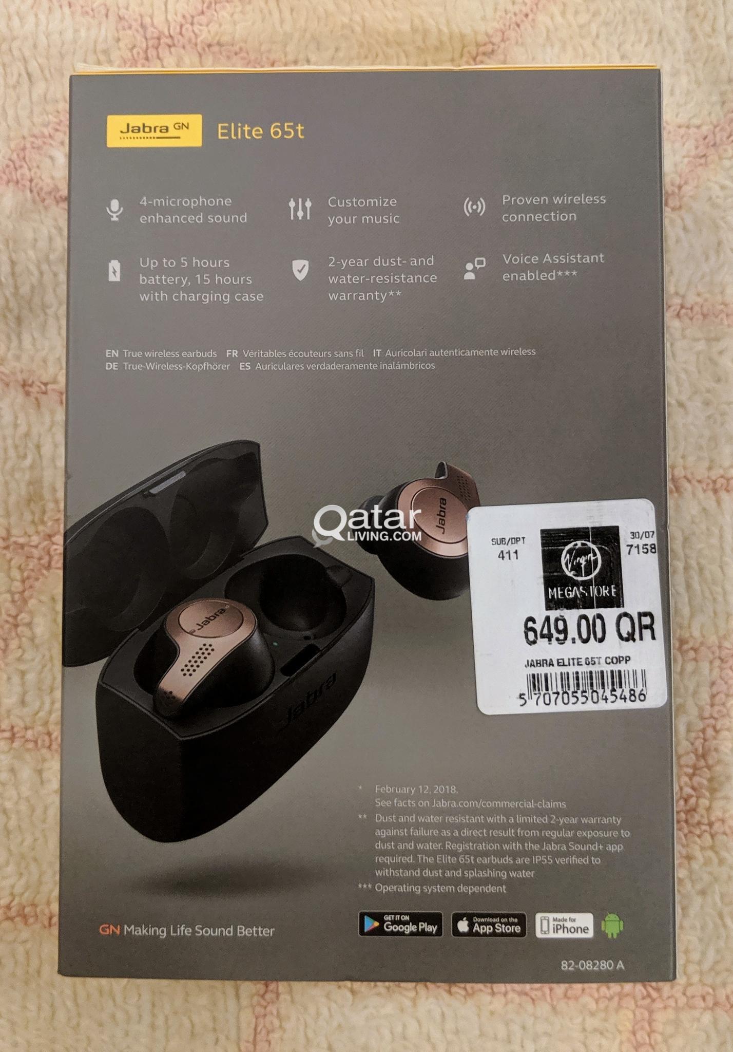 Jabra Elite 65t Wireless Earbuds | Qatar Living