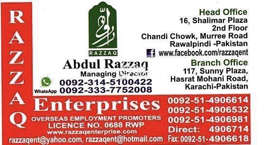 Manpower Supply company from Pakistan   Qatar Living