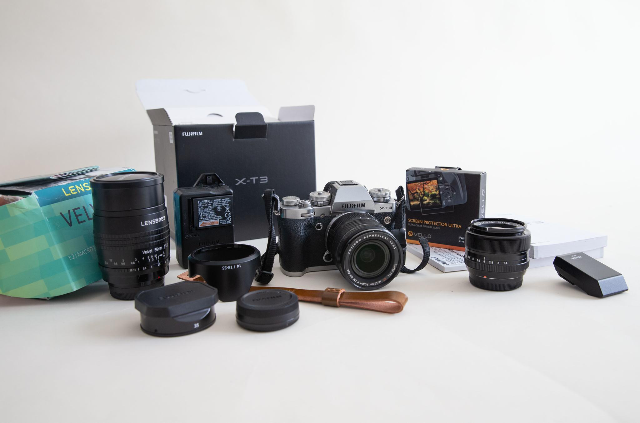 Brand new Fuji XT3 Camera and lenses for Sale | Qatar Living