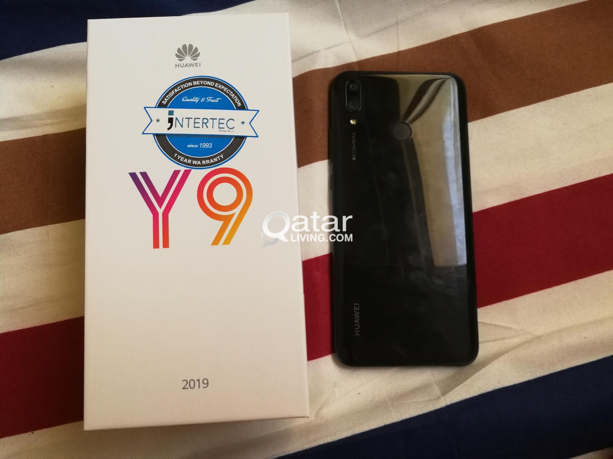 Huawei y9 2019  4gb ram, 64gb rom, 5month used  Warranty