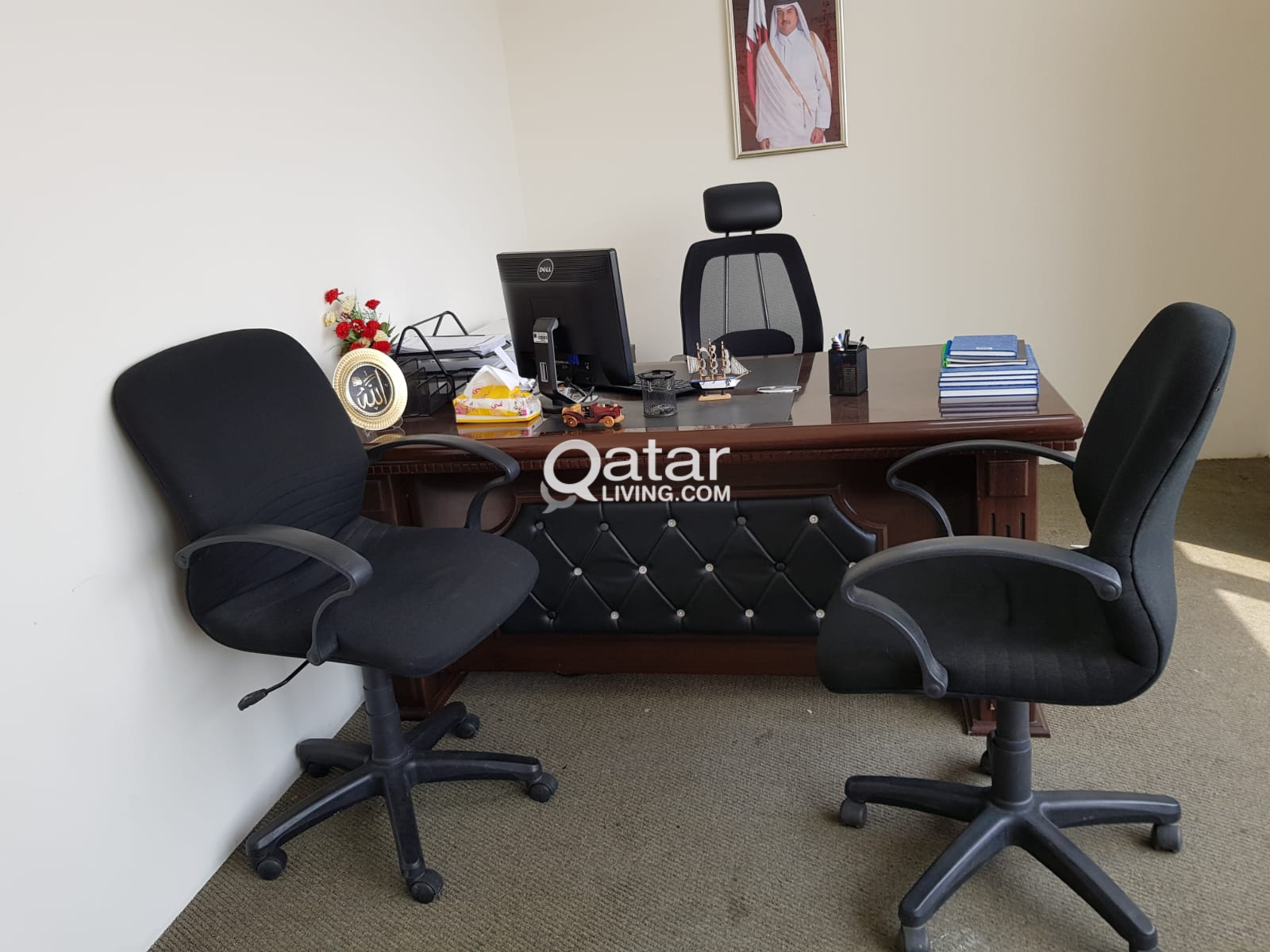 buy popular 1f581 4eff1 used office furniture for sale   Qatar Living
