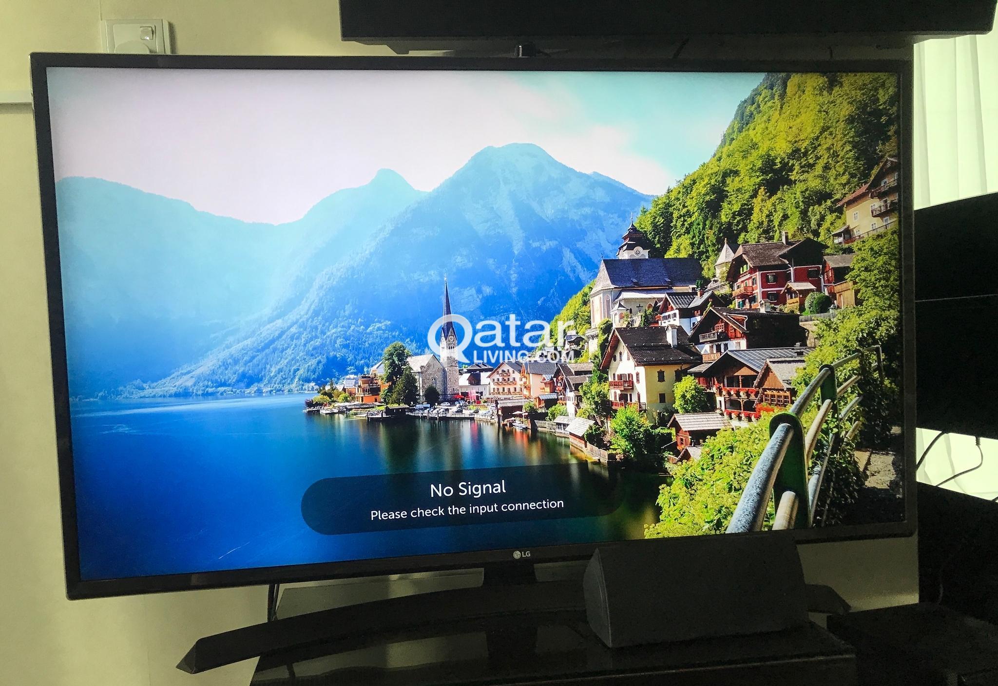 LG 4K SMART TV (43