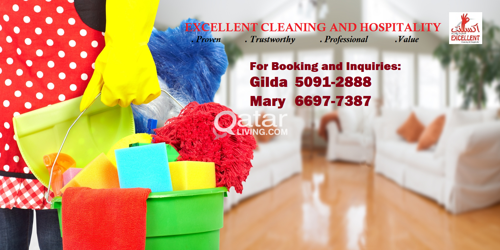 Excellent Cleaning and Hospitality 66977-387