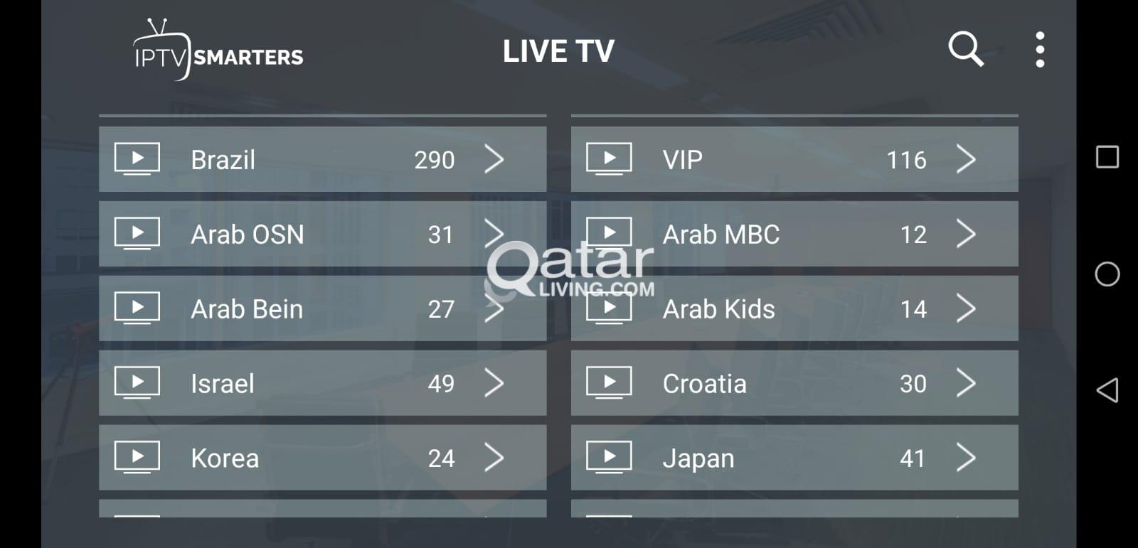 TV CHANNELS | Qatar Living