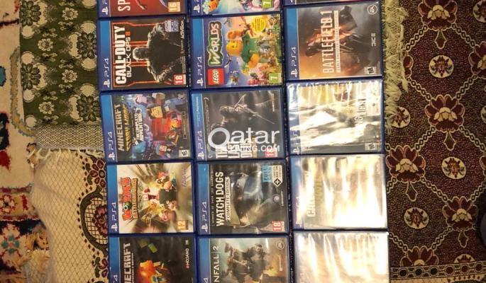 Playstation4 Games for Sale | Qatar Living