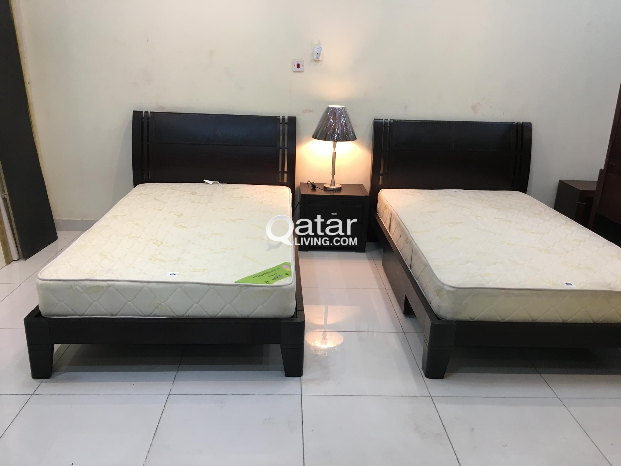Sidetable 200 Cm.For Sell Home Centre 2 Single Bed With Excillent Mattress