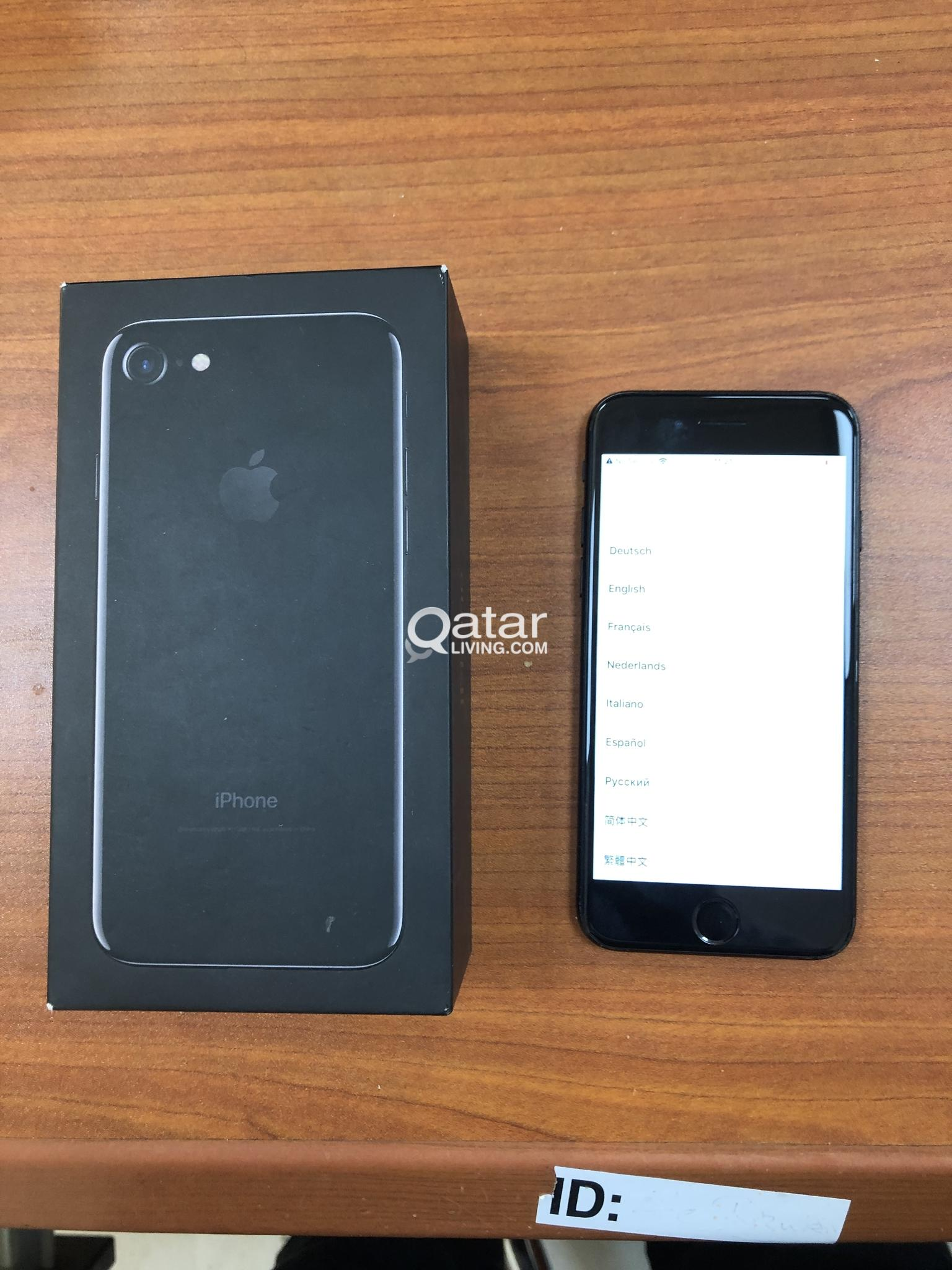 Iphone 7 Jet Black 256gb No Service issue cannot activate
