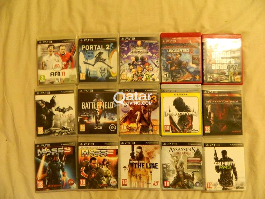 Used Video Games for sale in Doha Qatar | Qatar Living Items