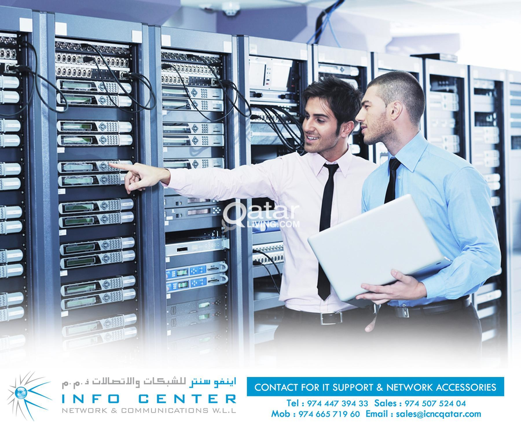 INFOCENTER NETWORK & COMMUNICATIONS