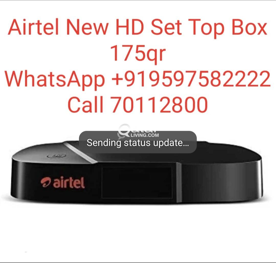 Airtel New HD Receive Sale    Qatar Living