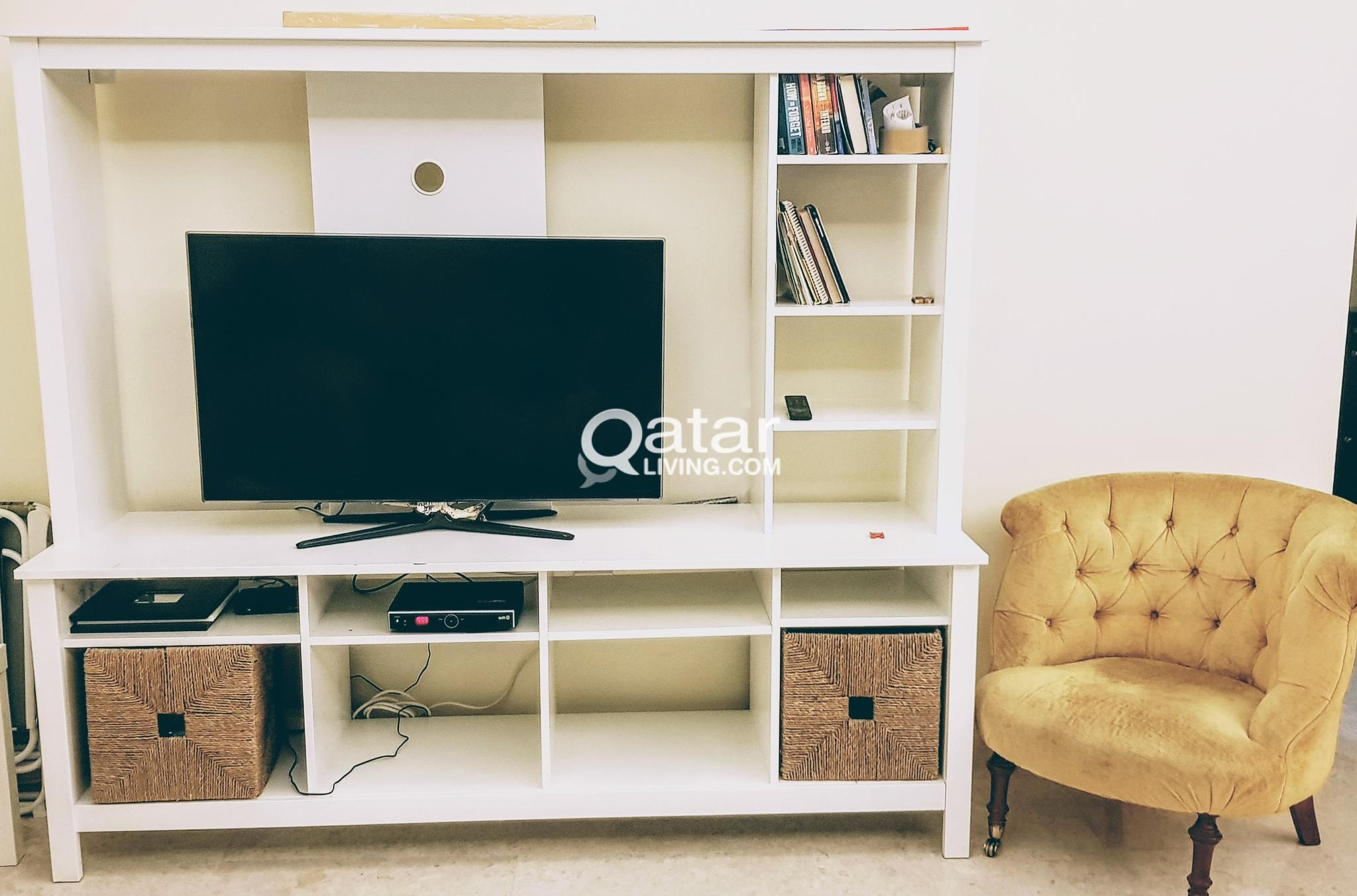 purchase cheap c76b2 4d901 IKEA Tomnas Tv Cabinet and Coffee table | Qatar Living