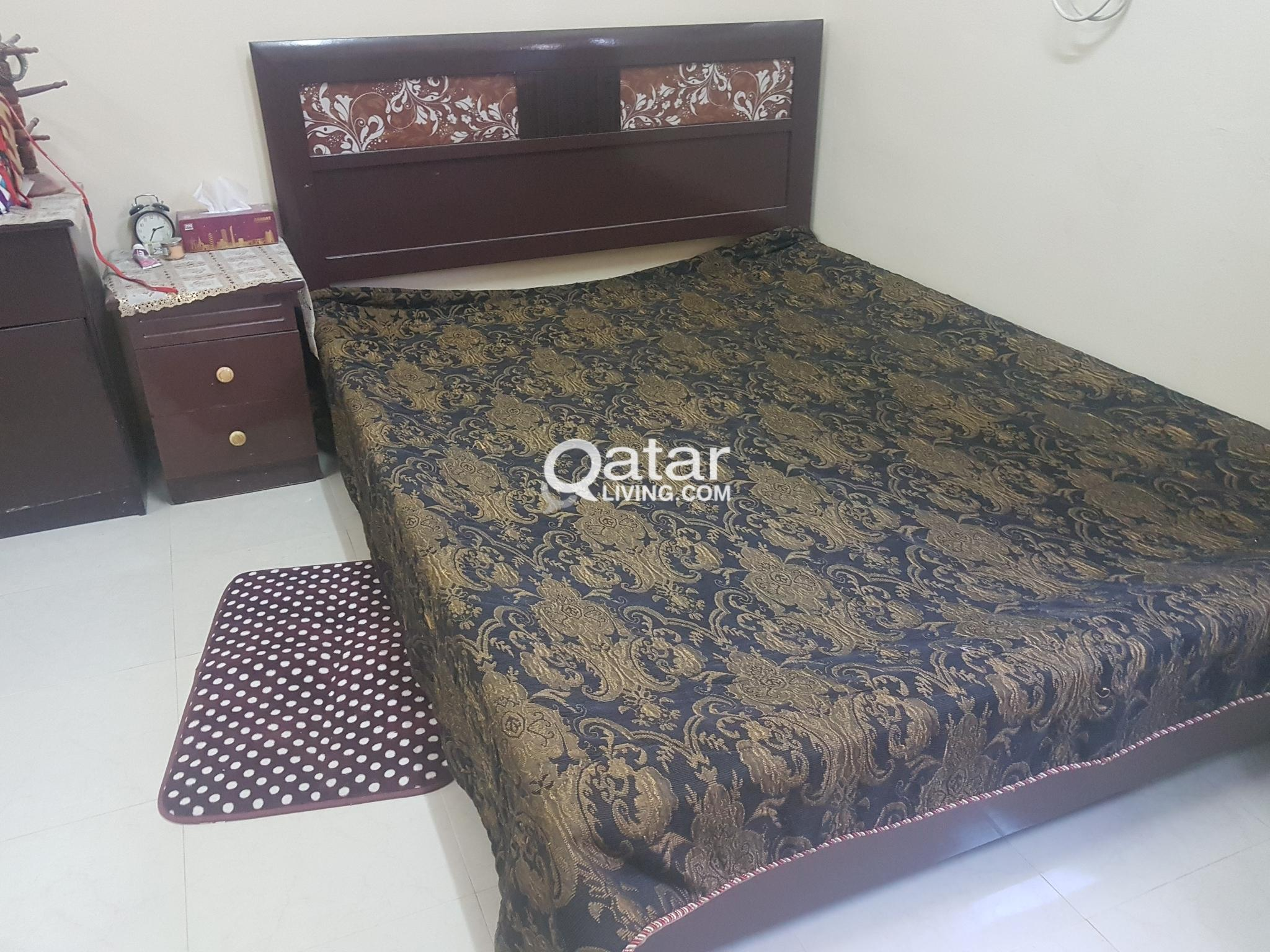 Double bed for Sale in Wakrah